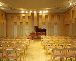 松風ギャラリーのホール