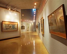 松風ギャラリーの展示室2